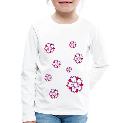 Sakura Psycho - T-shirt manches longues Premium Enfant
