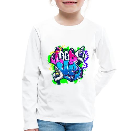 LOOP UP Street style - Kinder Premium Langarmshirt
