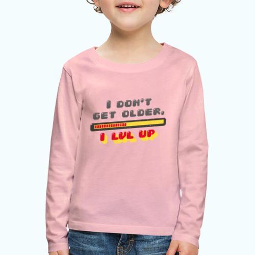 Gamer Spruch - Kids' Premium Longsleeve Shirt