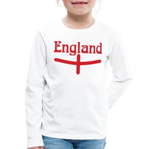 England motif - Kids' Premium Longsleeve Shirt