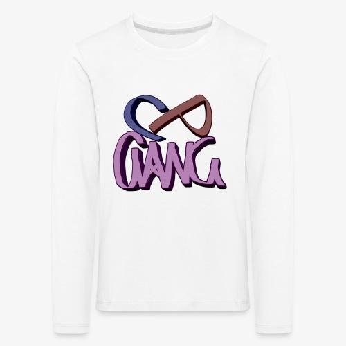 CPGANG - Lasten premium pitkähihainen t-paita