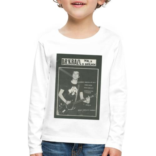 Svart Dr Krall - Långärmad premium-T-shirt barn