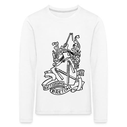 BATTIGRANO - Maglietta Premium a manica lunga per bambini