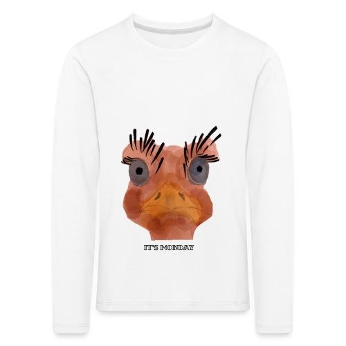 Srauss, again Monday, English writing - Kids' Premium Longsleeve Shirt