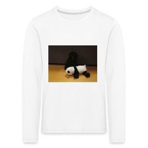 Maggie och pandan - Långärmad premium-T-shirt barn