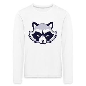 Waschbär - Kinder Premium Langarmshirt