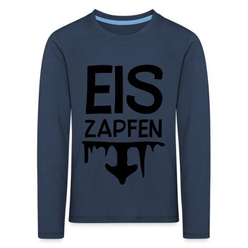 Skishirt Eiszapfen - Kinder Premium Langarmshirt