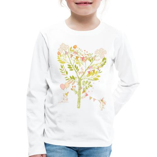 rabbit Party - Kids' Premium Longsleeve Shirt