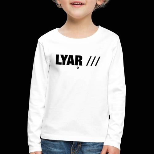 Lyar Official Merch (2) - T-shirt manches longues Premium Enfant