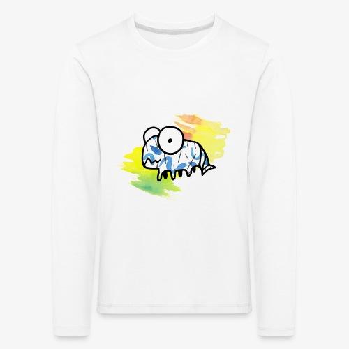 dziwny stworek akwarele - Koszulka dziecięca Premium z długim rękawem