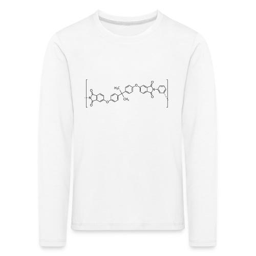 Polyetherimide (PEI) molecule. - Kids' Premium Longsleeve Shirt