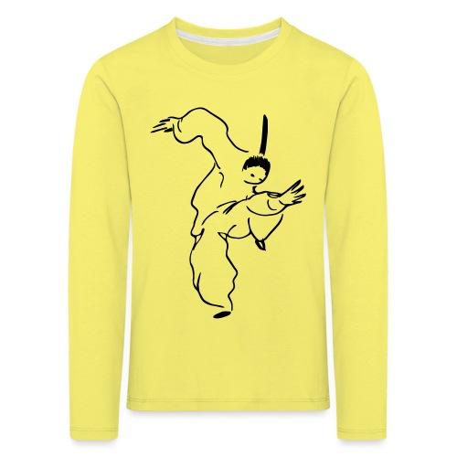 kungfu - Kids' Premium Longsleeve Shirt