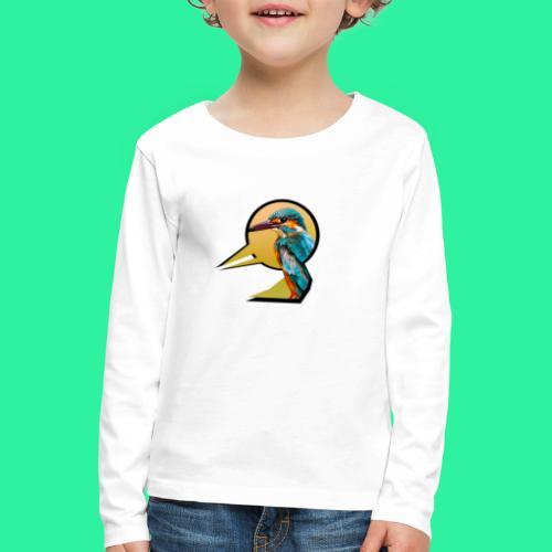 Vogel - Kinder Premium Langarmshirt