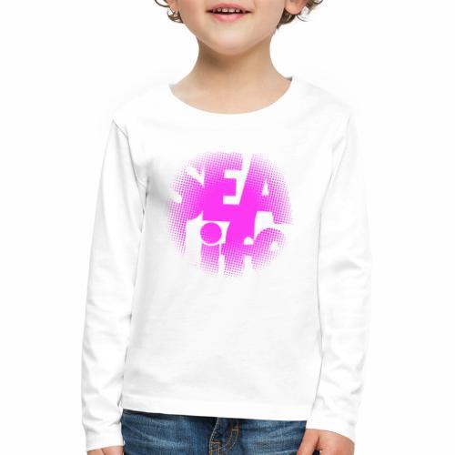Sealife surfing tees, clothes and gifts FP24R01B - Lasten premium pitkähihainen t-paita