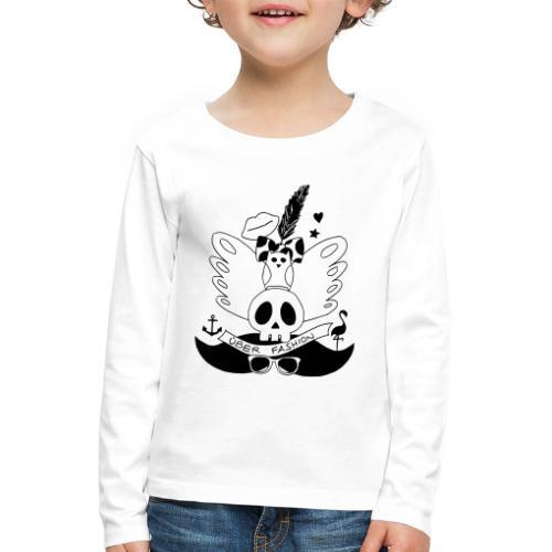ÜBER FASHION - T-shirt manches longues Premium Enfant