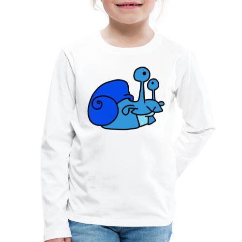 Schnecke Nr 79 von dodocomics - Kinder Premium Langarmshirt