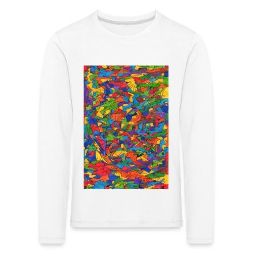 Color_Style - Camiseta de manga larga premium niño