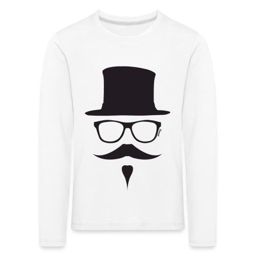 Moustachu Black (H) - T-shirt manches longues Premium Enfant