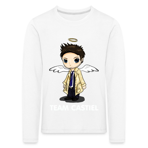 Team Castiel (dark) - Kids' Premium Longsleeve Shirt