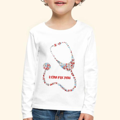 i will fix you stethoscope - Kids' Premium Longsleeve Shirt