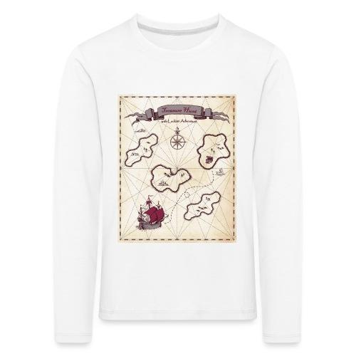 treasure Map - Kids' Premium Longsleeve Shirt