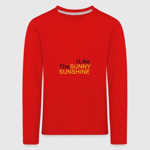 Sunny Sunshine... - Kinderen Premium shirt met lange mouwen