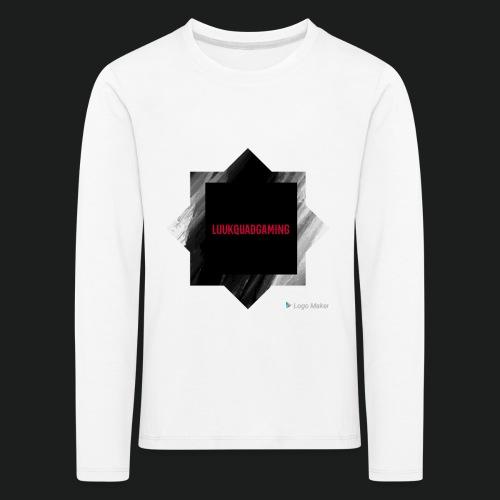 New logo t shirt - Kinderen Premium shirt met lange mouwen
