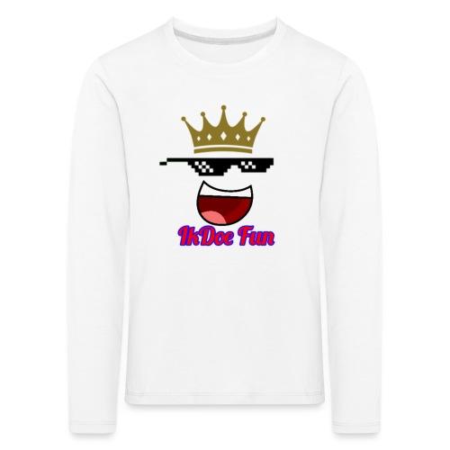 IkDoe Fun - Kinderen Premium shirt met lange mouwen