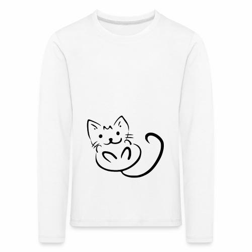 Kitten - Maglietta Premium a manica lunga per bambini