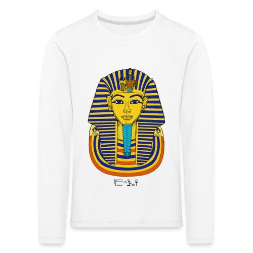 Pharao Tutanchamun - Kinder Premium Langarmshirt