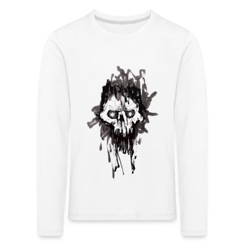 Skullface - Kids' Premium Longsleeve Shirt