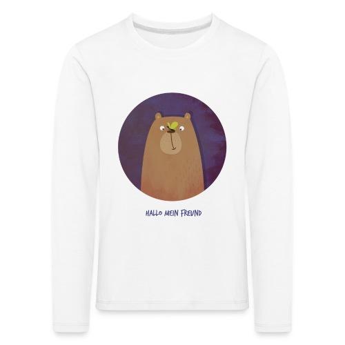 Hallo mein Freund Longsleeve - Kinder Premium Langarmshirt