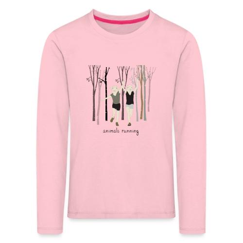 Moutons running - T-shirt manches longues Premium Enfant