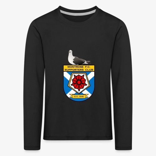 Montrose FC Supporters Club Seagull - Kids' Premium Longsleeve Shirt