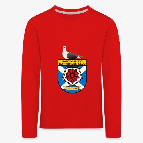 Montrose FC Supporters Club Seagull - Kids' Premium Longsleeve Shirt