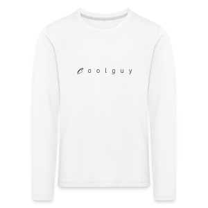 coolguy Collection - Premium langermet T-skjorte for barn