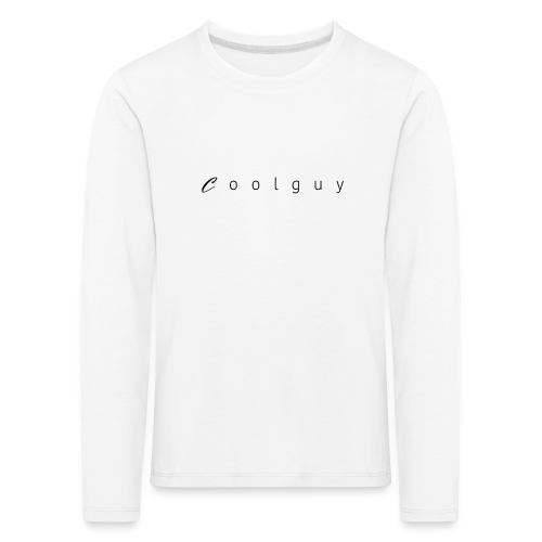 coolguy Collection - Premium langermet T-skjorte for barn
