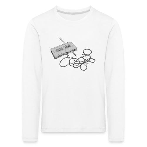 La cassette et son allié - T-shirt manches longues Premium Enfant