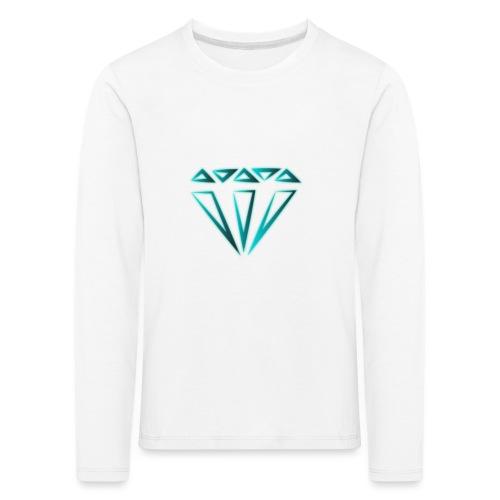 diamante - Maglietta Premium a manica lunga per bambini