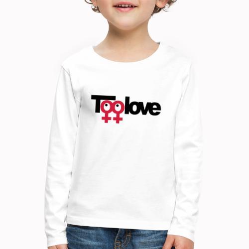 toolove mm - Maglietta Premium a manica lunga per bambini