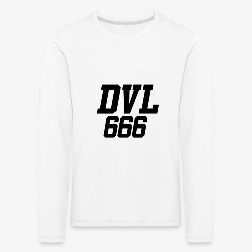 DVL666 - Camiseta de manga larga premium niño
