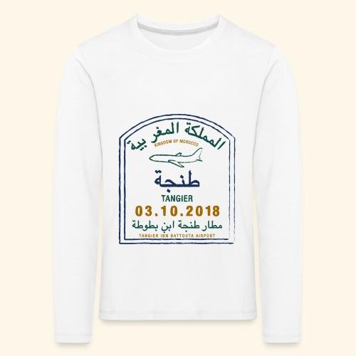Tanger - T-shirt manches longues Premium Enfant