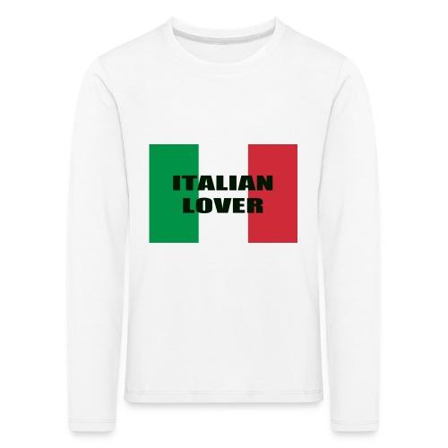 ITALIAN LOVER - Maglietta Premium a manica lunga per bambini