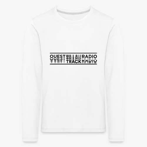 Logo Long noir - T-shirt manches longues Premium Enfant