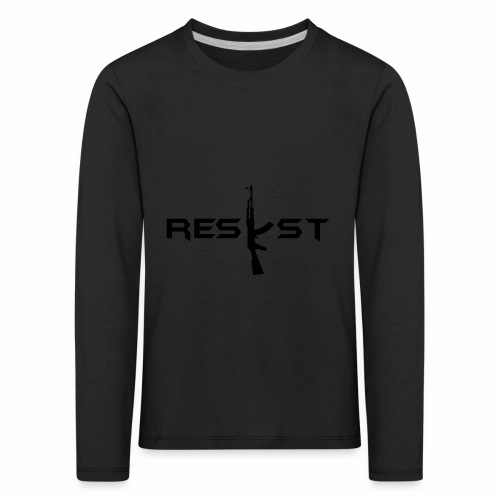 resist - T-shirt manches longues Premium Enfant