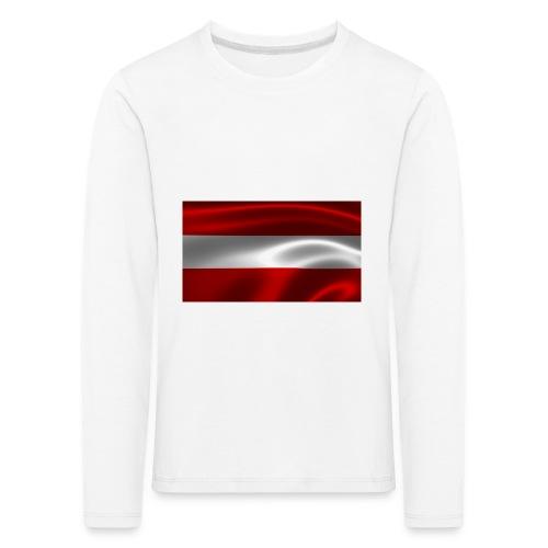 Austria I Love Austria - Kinder Premium Langarmshirt