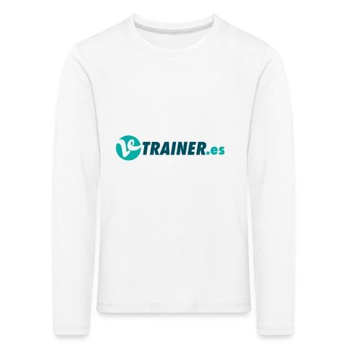 VTRAINER.es - Camiseta de manga larga premium niño