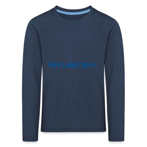Teksti ilman seuran logoa - Lasten premium pitkähihainen t-paita