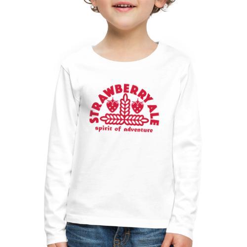 Strawberry Ale - Kids' Premium Longsleeve Shirt