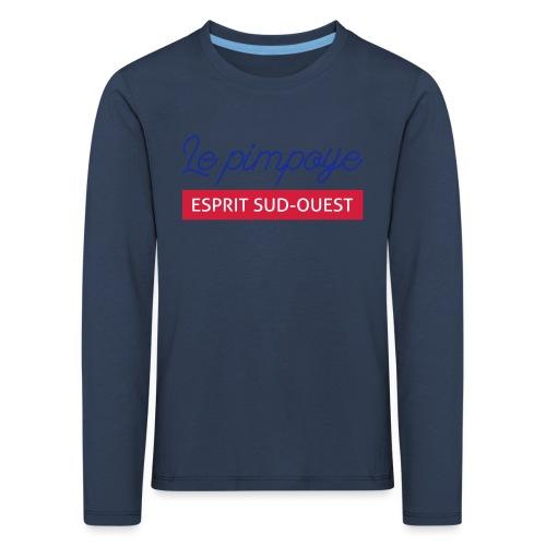 Le pimpoye - T-shirt manches longues Premium Enfant